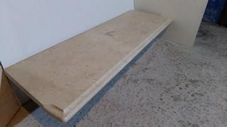 Подоконник из мрамора Crema Mare