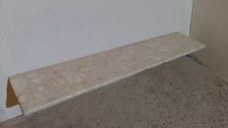 Подоконник из агл.мрамора Calacatta